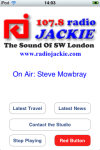 Radio Jackie app